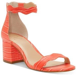 INC Women's Hadwin Scallop Two-Piece Sandals